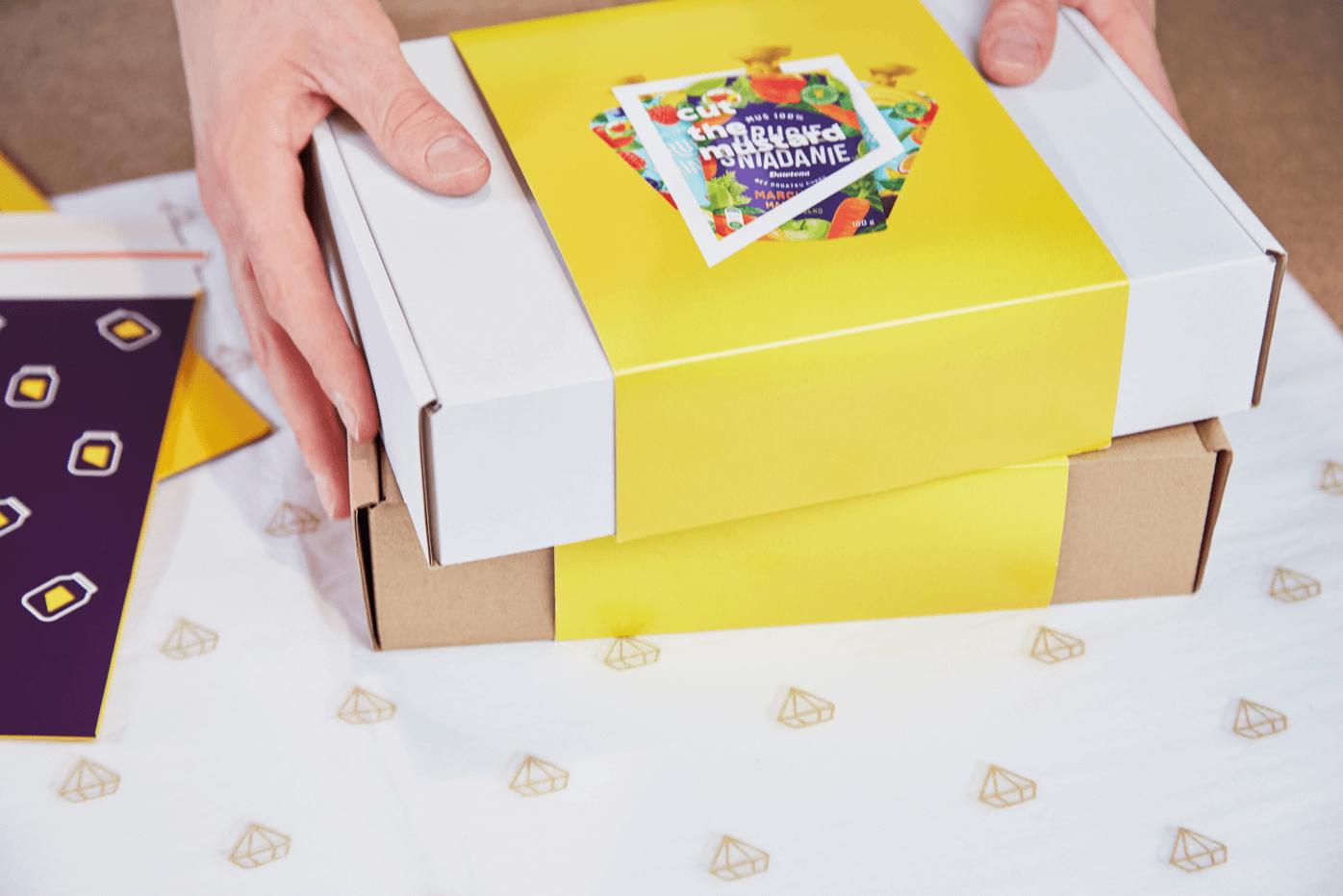 Fasce per scatole