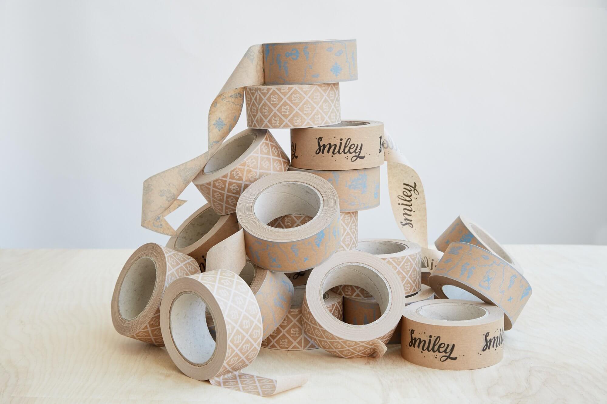 Packhelp Nastri adesivi kraft personalizzati